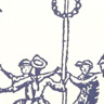 Maypole note card
